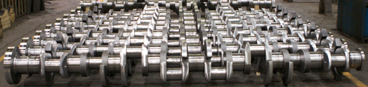 Locomotive Crankshafts